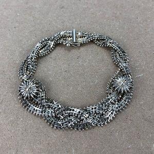 Vintage Diamant's Silver 925 Bracelet